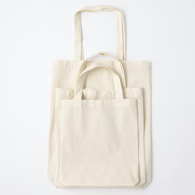 無印の綿バッグ